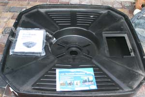 self contained pondless water feature basin kit